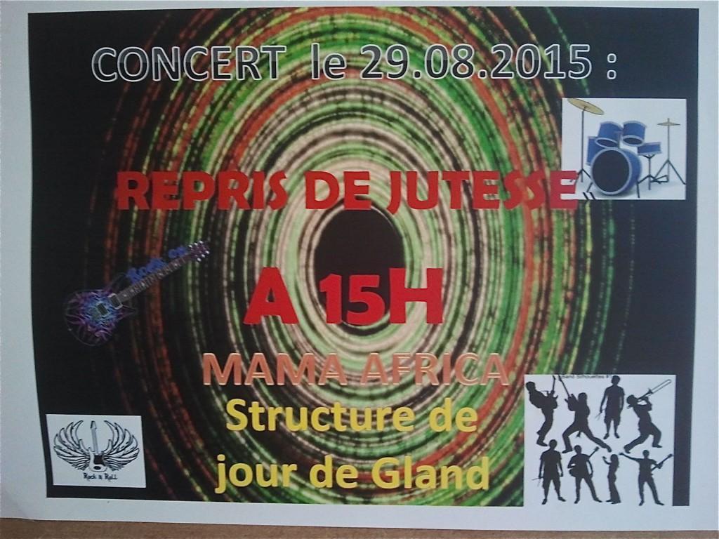 29 août 2015 Concert EVAM Gland